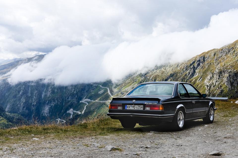 Furkapass BMW