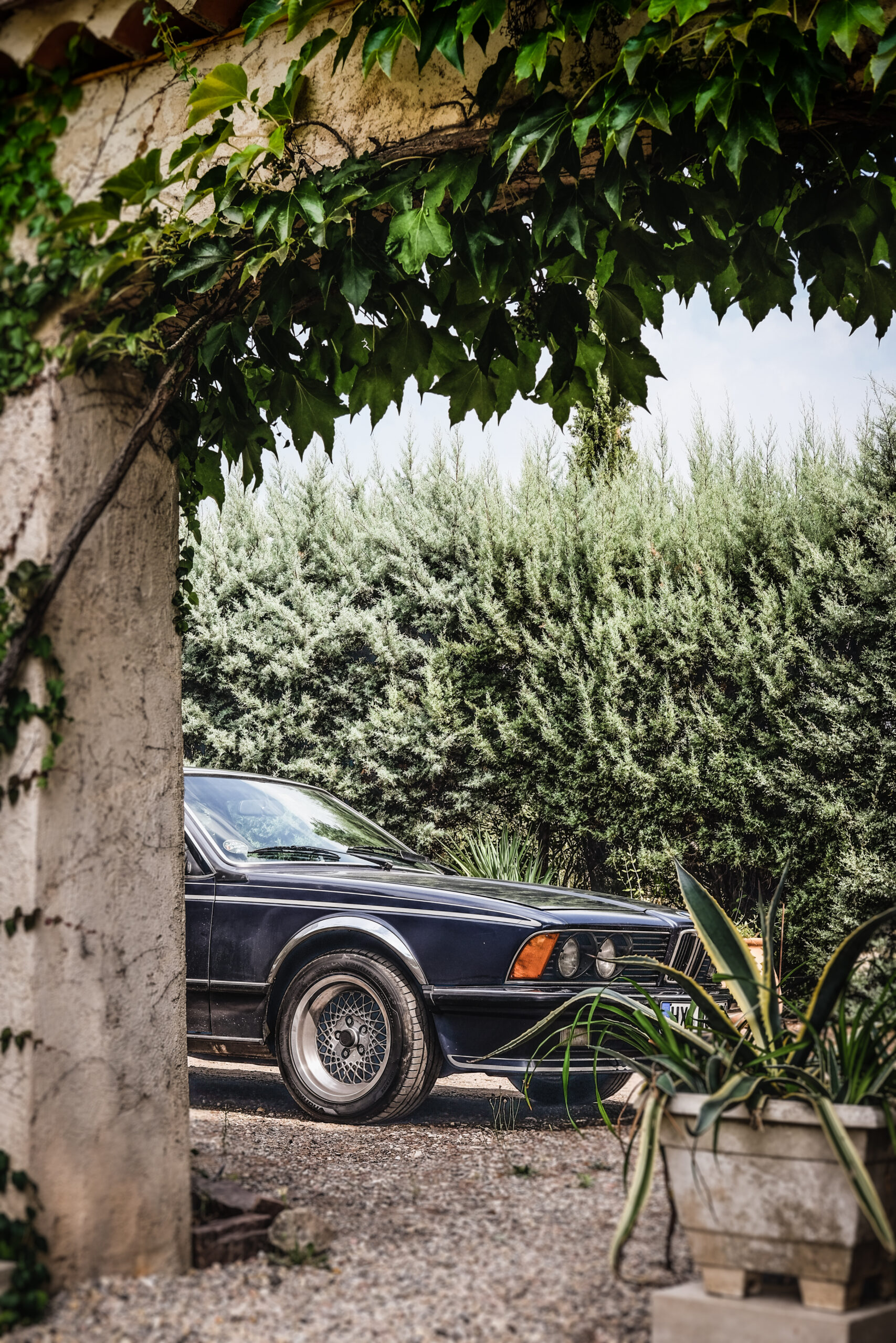 BMW Oltimer Frankreich