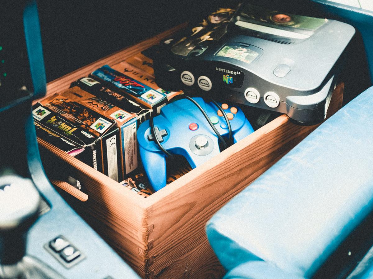 Nintendo64 im Oldtimer